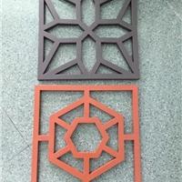家用仿古铝花格_别墅装饰定制中式铝花格