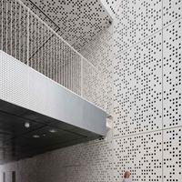 酒店外墙装饰冲孔铝单板-冲孔铝板厂家