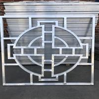 20X20铝管焊接工艺铝窗花