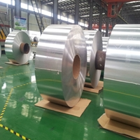 電廠保溫管道包裝0.5mm鋁卷