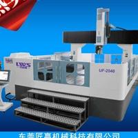 供应铝料铝件铝模加工中心五轴型材机