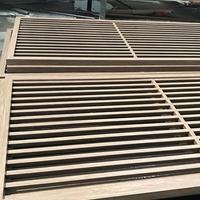 中式古典铝窗花人工烧焊定制工艺