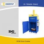 油桶壓扁機處理多大規格的涂料桶