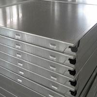 喷涂、辊涂铝扣板,吸音性防潮铝天花板