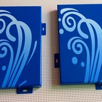 德普龍3D打印噴繪圖案鋁單板