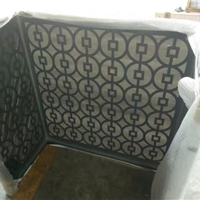定制环保铝合金空调罩_铝空调外机保护罩