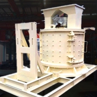 1250型立轴式板锤制砂机一个小时产量有多年夜