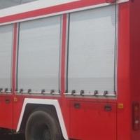 消防车卷帘门,铝合金车用卷闸门