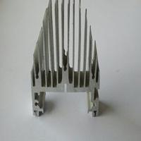 高难度太阳花散热器铝型材厂家\中奕达