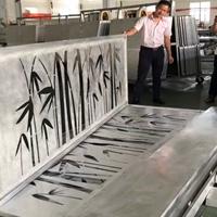 厂家直销茶餐厅装饰镂空雕花铝单板