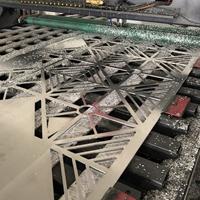 铝单板镂空雕刻 特色饭店墙面雕花铝单板