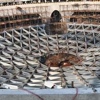 大跨度椭圆形铝合金穹顶结构