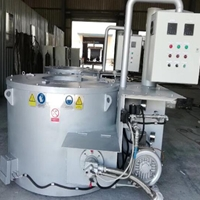 500KG压铸熔炉机边保温炉铸造熔化炉