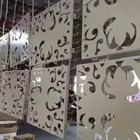 商场幕墙装饰雕花铝单板异形铝单板