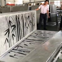 铝类装修材料造型雕花铝单板定制
