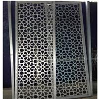 定制幕墙3.0厚冲孔铝单板-雕花铝板