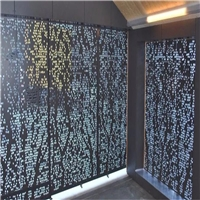 3D打印彩绘印花铝单板-雕花铝板