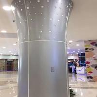 包柱板厂家-雕花铝单板方柱包柱定制