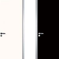 康洛斯卧室平开铝木门隔音环保生态门