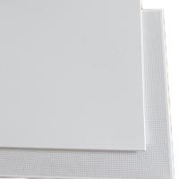 豪亚厂家直销铝扣板 白色喷粉铝天花板