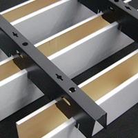 u型铝方通吊顶 5x10规格u型铝方通定制