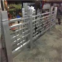 铝管材焊接铝窗格花窗新款元素装饰