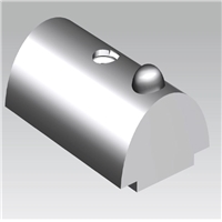 瑞鑫源工业铝型材金属配件弹性螺母