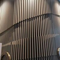 幕墙弧形铝方通多少一平方-怎算?