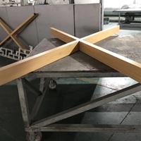 椰子鸡X形木纹5080铝方管合作生产商