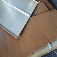 铝合金木纹板 热转印木纹铝板 金属装饰材料