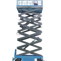10米升降機 液壓升降平臺發貨