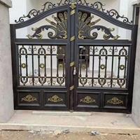 铝艺门,铝艺围栏,别墅门