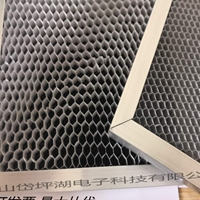 光觸媒鋁基過濾網蜂窩活性炭過濾網除甲醛