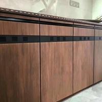 全铝合金晶钢门材料厨柜门板型材厂家批发