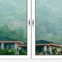 双色铝合金推拉窗 三轨和两轨推拉窗