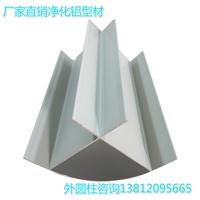 外圆柱污染铝型材