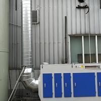 烤漆房臭气治理方案烤漆车间废气处理设备厂