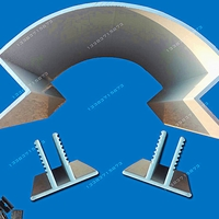 圆弧铝圆角加油站包柱护角广东厂家