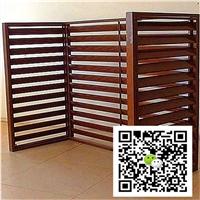 焊接外墻木紋鋁空調罩定制廠家