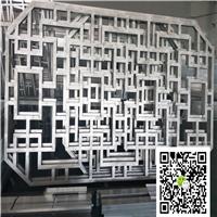 外墙铝屏风-木纹铝窗花厂家