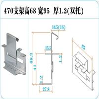 直立锁边470型屋面板固定支架470支架图片