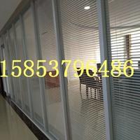 双层玻璃隔断,中空百叶玻璃隔断安装价格