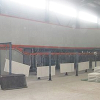 暖氣片噴塑設備噴塑自動化設備噴塑流水線