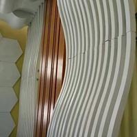 弧形铝方通定制成本定制拉弯铝方通
