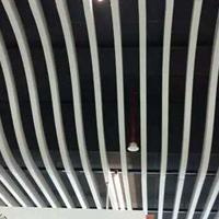 定制墙身装饰高低不平弧形波浪型铝方通