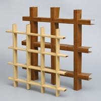 厂家批发定制 木纹铝格栅天花吊顶