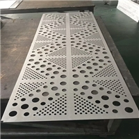 白色镂空空调罩-雕花铝板厂家