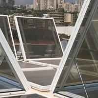 供應鋼質 鋁合金排煙天窗 消防驗收安裝