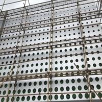 门头招牌外墙装饰冲孔铝单板供应