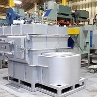 连续式溶解保温炉 燃气熔化炉